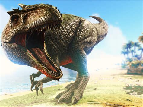 desktop wallpaper ark survival evolved video game angry