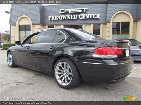 2006 Bmw 7 Series 760li Sedan In Jet Black Photo No
