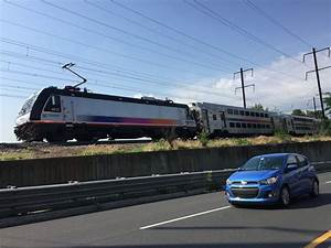 Downed Wire Delays Parkway Traffic  Nj Transit Trains