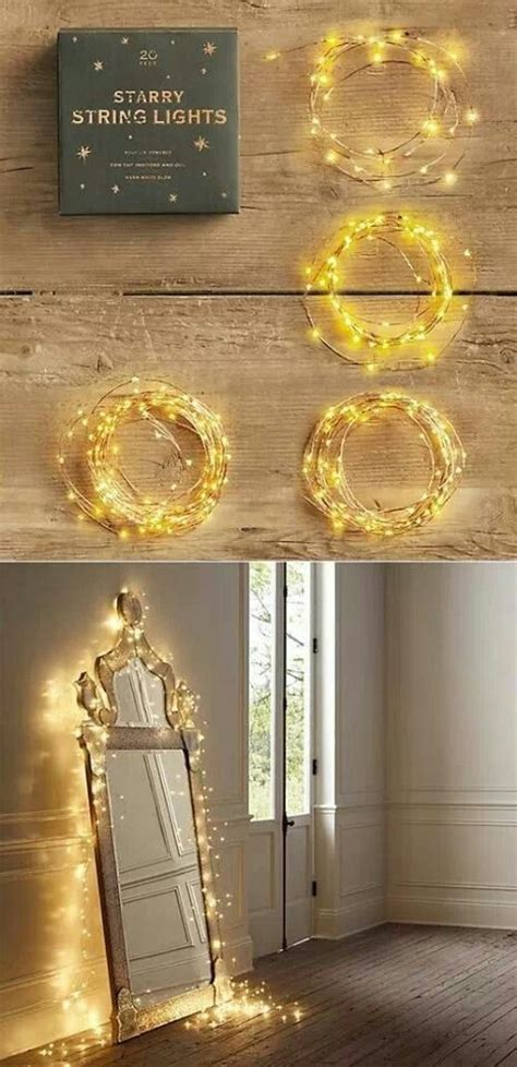 20 Amazingly Pretty Ways To Use String Lights
