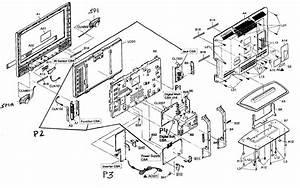Sylvania Model Lc260ss8 Lcd Television Genuine Parts