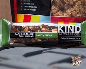 KIND Healthy Snacks - Review | It Sux to be Fat