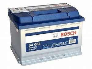 Batterie Bosch S4008 : akumulator 12v 74ah s4008 bosch s4 cb740 e11 ca770 ~ Farleysfitness.com Idées de Décoration
