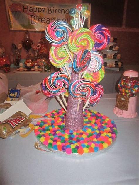ideas  candy centerpieces  pinterest