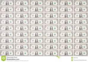 Dollar Bills Printable Sheets
