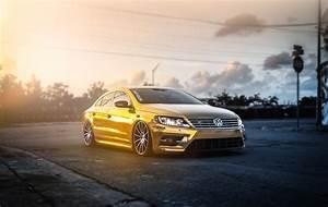 Volkswagen, Volkswagen, Passat, Passat, Gold, Car, Tuning
