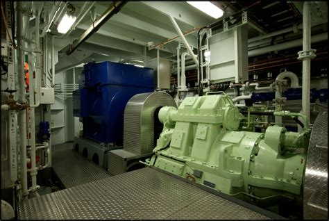 Ship Generator by The Green Source Of Power Shaft Generator