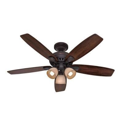 Hunter Highbury 52 In Indoor New Bronze Ceiling Fan 52006