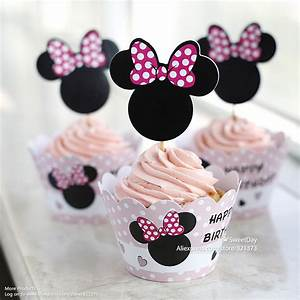 Free Shipping Minnie Mouse cupcake wrappers cake cups ...