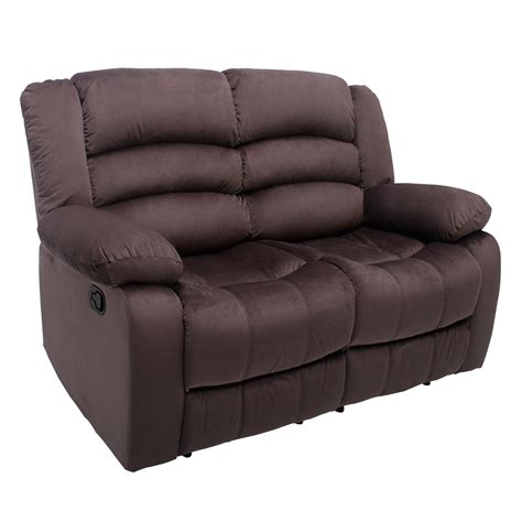 Recliner Loveseat Cover by Manual Recliner 2 Seat Sofa Chair Slipcover Ergonomic