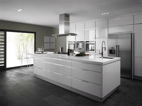 ilot central cuisine lapeyre integrato white from eaton kitchen designs wolverhton