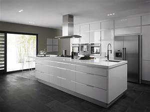 White kitchens interiordecodircom for Kitchen colors with white cabinets with framed wall art set of 3