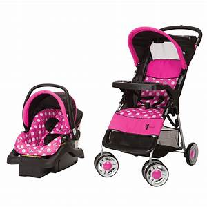 Cosco Lift & Stroll Travel System Minnie Dot - Baby - Baby ...