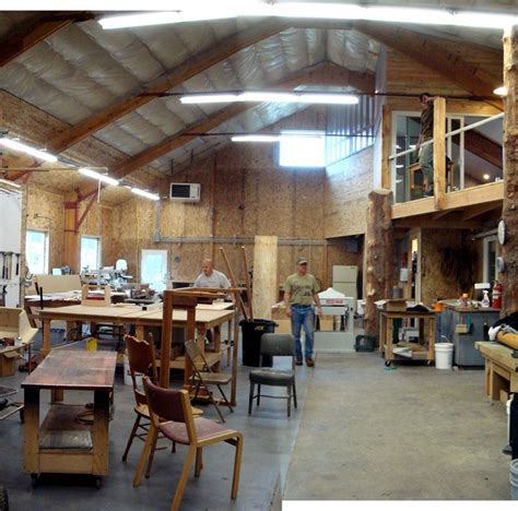 slab building wood shop woodworking workshop wood