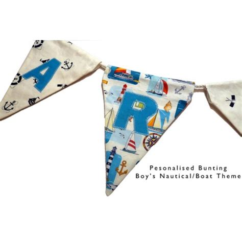 Personalised Boat Flags Uk by Personalised Flag Bunting
