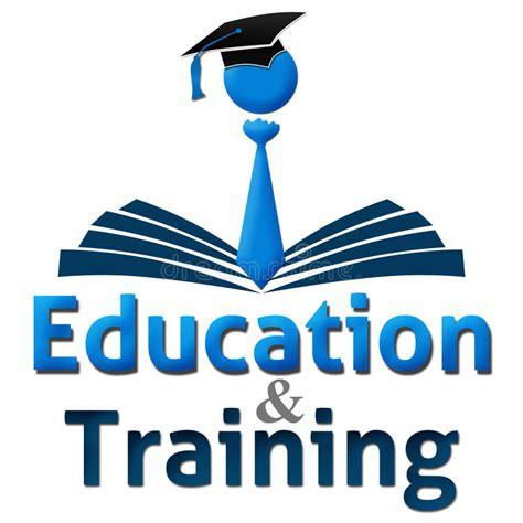 education  training human cap book stock illustration