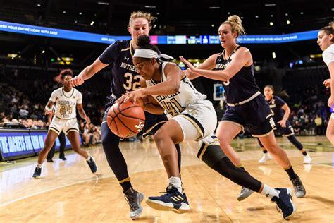 womens basketball  notre dame georgia tech