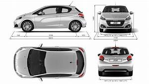 Dimension 2008 Peugeot : technical information peugeot 208 showroom small car ~ Maxctalentgroup.com Avis de Voitures