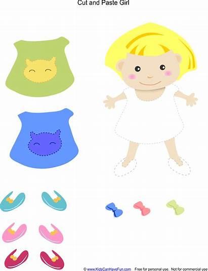 Paste Cut Preschool Worksheets Activities Kindergarten Printables