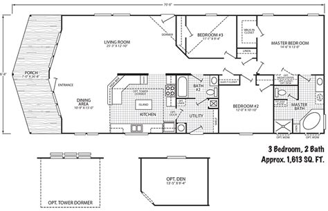 1993 mobile home floor plans free home design ideas images
