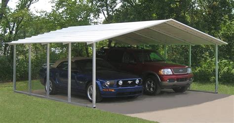 steel carport kits metal carport kits do yourself allstateloghomes