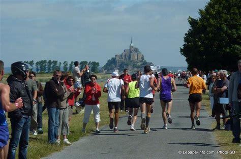 marathon de la baie du mont st michel 13 mai 2012 lepape info