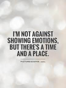 Quotes About Not Showing Emotion