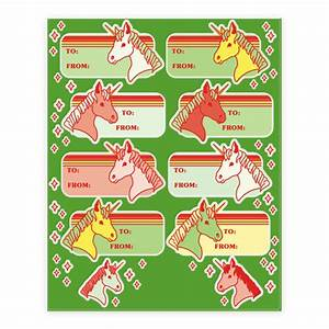 Christmas Gift Tag Stickers – Merry Christmas And Happy ...