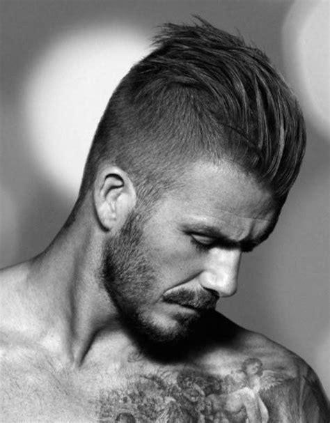 david beckham coupe undercut homme coiffure hommes coupe homme coiffure