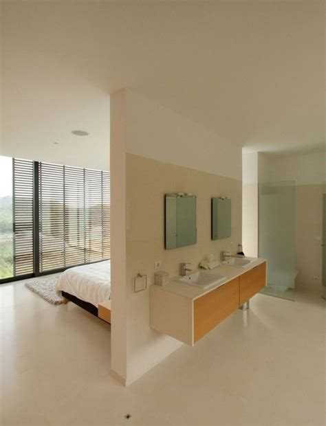 open plan bedroom open plan bathroom would this if i lived alone