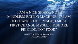 FINDING NEMO QUOTES BRUCE image quotes at hippoquotes.com