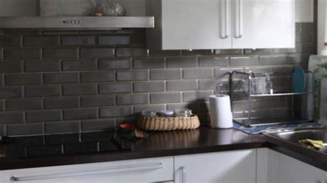 carrelage metro noir cuisine solutions pour la