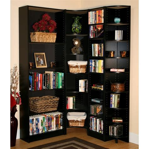 Corner Cabinet Bookcase by 25 Great Corner Bookcase Ideas Inhabit Ideas