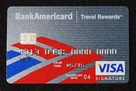 Request up to 12 months of detailed transaction information. Chip-enabled Bank of America BankAmericard Visa Signature ...