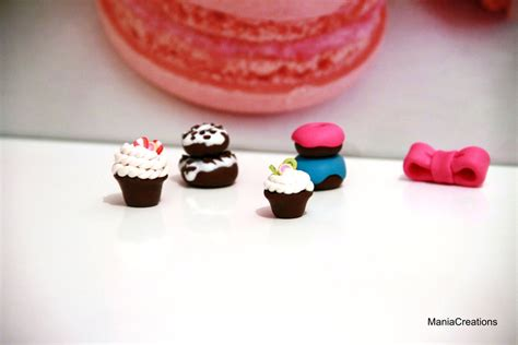 patisseries en pate polymere fimo by maniacreations on deviantart