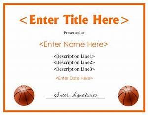 basketball mvp certificate template - 12 best images about basketball award ideas on pinterest