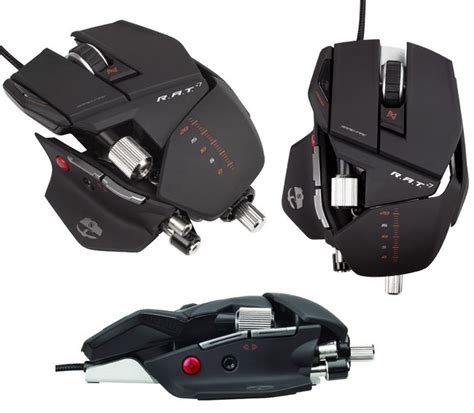 Mad Catz Cyborg Rat Now Available With Mac Drivers