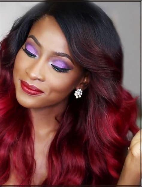 2016 Trendy Hair Color Ideas For Black Women 2019