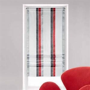Rideau Gris Et Rouge : finest rideau cuisine rouge et gris acc pictures to pin on ~ Teatrodelosmanantiales.com Idées de Décoration