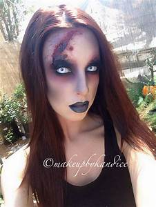 Pretty Girl Zombie makeup. Go zombie, but go beautiful ...