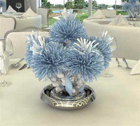 blue centerpieces for baby shower baby shower centerpieces best baby decoration