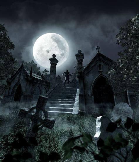 Graveyard Nightmare Before Background Images by Hd Wallpapers Collection 48 Of Graveyard Best