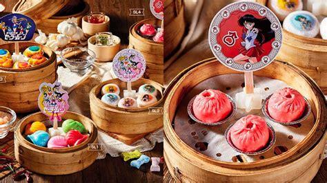sailor moon themed dim sum  hong kong