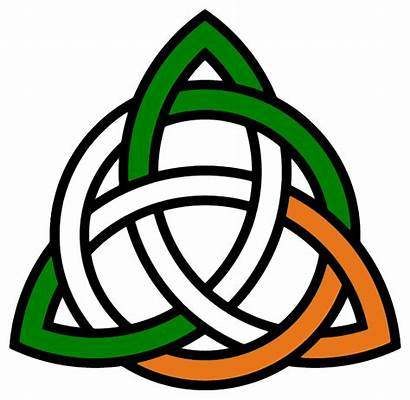 Celtic Knot Trinity Irish Clipart Flag Suggest