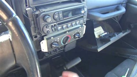 diy car stereo install   jeep tj youtube
