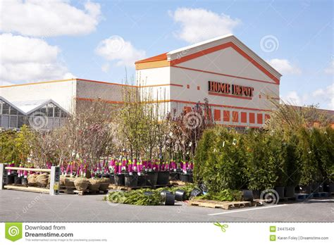 home depot garden center editorial stock image image