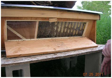 Top Bar Excluder - honey bee winter feeding peak prosperity