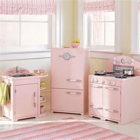 playpink cuisine pink pottery barn kitchen for hooked on houses