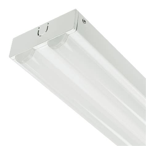 4 foot led light fixture energetic lighting elyst 8024c 4 ft surface mounted