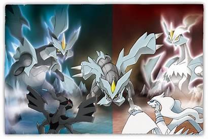 Pokemon Reshiram Strongest Zekrom Kyurem Anime Legendary